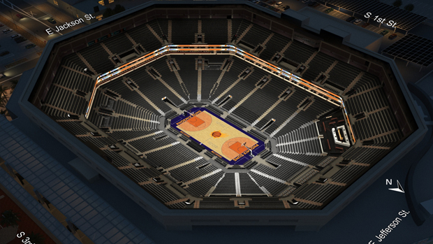 Phoenix Suns Virtual Venue By Iomedia
